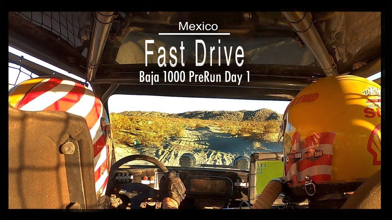 Baja 1000, Prerunning #1