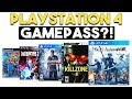 PLAYSTATION 4 GAMEPASS?! IS CyberPunk 2077 a PS4 Game?