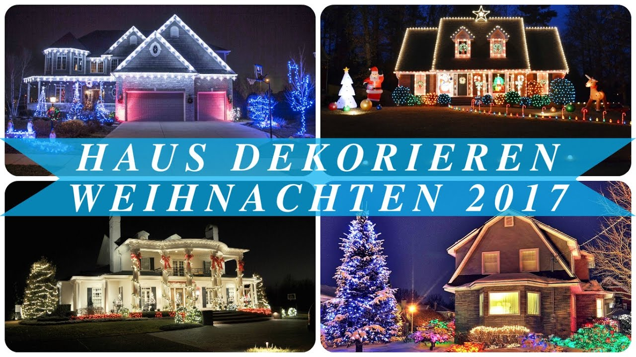 haus dekorieren weihnachten 2017 youtube. Black Bedroom Furniture Sets. Home Design Ideas