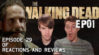 "The Walking Dead: Reactions and Reviews EP29 | S05EP01 - ""No Sanctuary"""