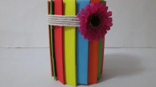 Diy : #21 Pencil Holder From Recycled Bottle ♥