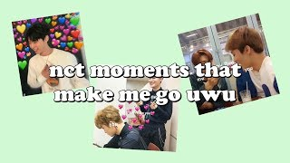 nct moments that make me go uwu (THANK YOU FOR 1K SUBS uWu)