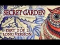 Colouring Book Secret Garden Owl Part 2 of 2 Long Version