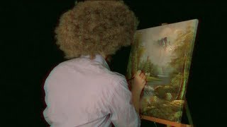 Time Travel Tuesday: Bob Ross - ASMR - Soft Spoken, Engraving, Tapping, Whispering