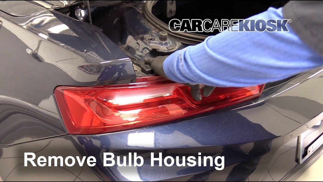 2016-2018 Chevrolet Camaro Tail Light Housing Removal