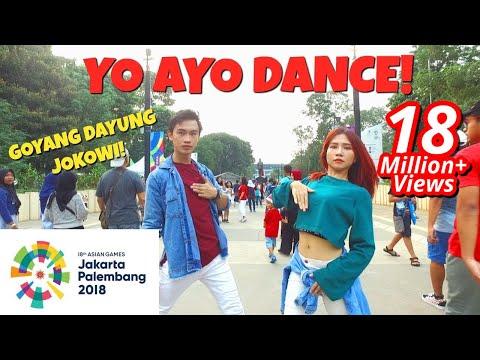 VIA VALLEN 'MERAIH BINTANG' DANCE IN PUBLIC | ASIAN GAMES 2018 OFFICIAL SONG | Choreo by Natya Shina