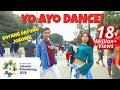 VIA VALLEN 'MERAIH BINTANG' DANCE IN PUBLIC | ASIAN GAMES 2018 SONG | Choreo by Natya Shina