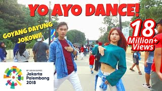 VIA VALLEN 'MERAIH BINTANG' DANCE IN PUBLIC | ASIAN GAMES 2018 OFFICIAL SONG | Choreo by Natya Shina thumbnail