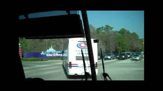 THE DISNEY VIDEOH!!- Day 1: The Bus Ride
