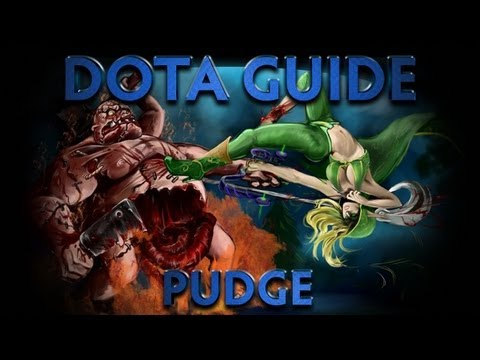 видео: dota гайд pudge - butcher