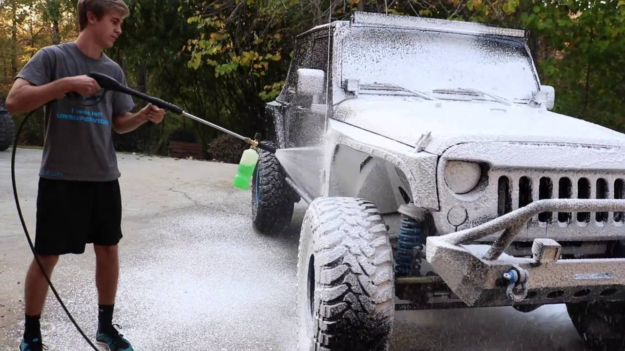 how to build a foam cannon