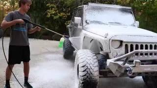 Chemical Guys Foam Cannon Dirty Jeep JK