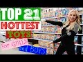 Top 21 HOTTEST🔥 Christmas Toys for Girls & Boys in 2016!