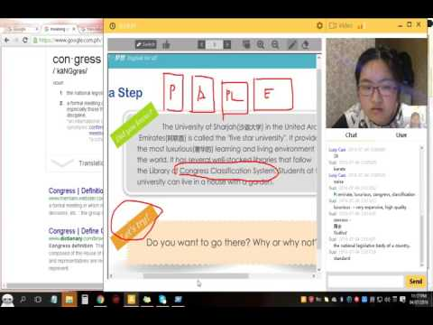 Online Class with Lucy Cao