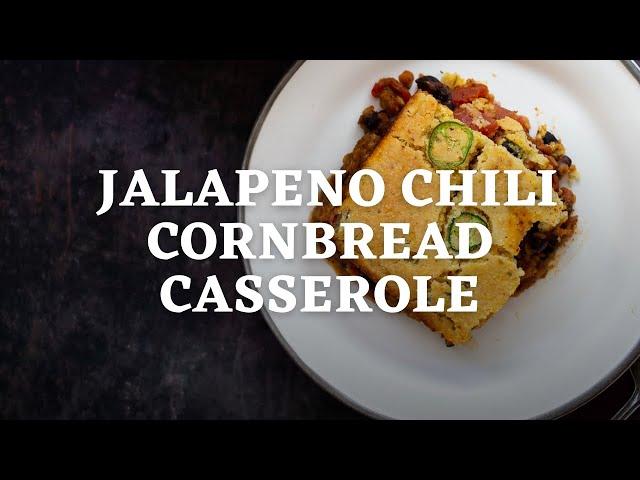 JALAPENO CHILLI CORNBREAD CASSEROLE | Vegan Richa Recipes