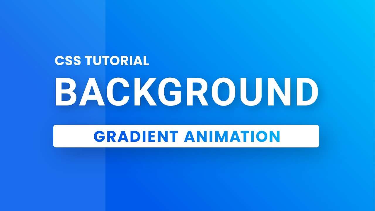 CSS Background Gradient Animation