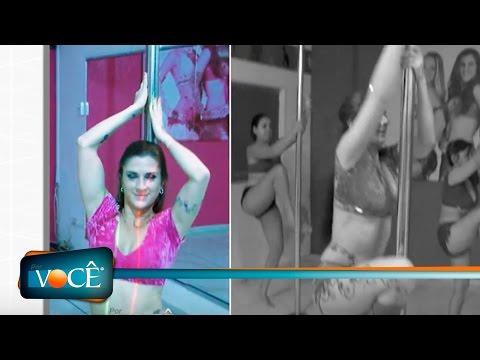 Por Você - Faaria fala sobre o pole dance 18/06/16