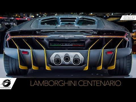Lamborghini Centenario LIVE PREMIERE Press Conference