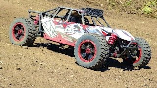 RC ADVENTURES - Losi DBXL 4x4 - One Lap - Gasoline Engine Break-in