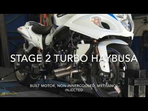 Jeff's stage 2 Turbo Hayabusa