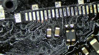 820-3115 logic board no backlight caps shorted to ground