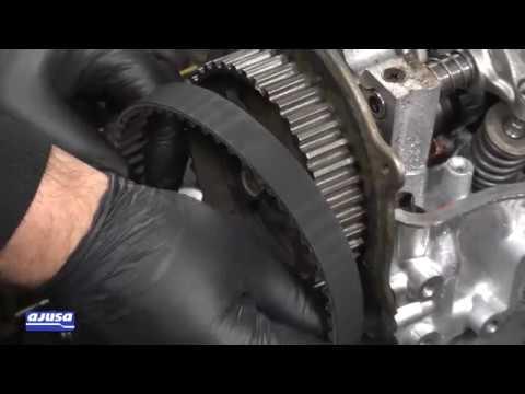 Фото к видео: SUZUKI VITARA 1.6 (G16A) Oil seal assembly – Montaje del retén de aceite Ajusa