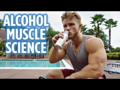 How Alcohol Influences Muscle (10 Studies) | Drunk Workout in Vegas
