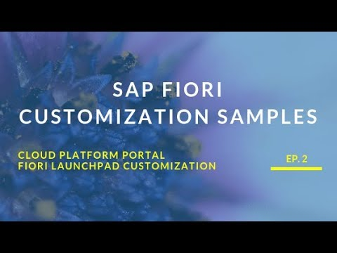 Fiori Launchpad Customization - Inspiricon AG
