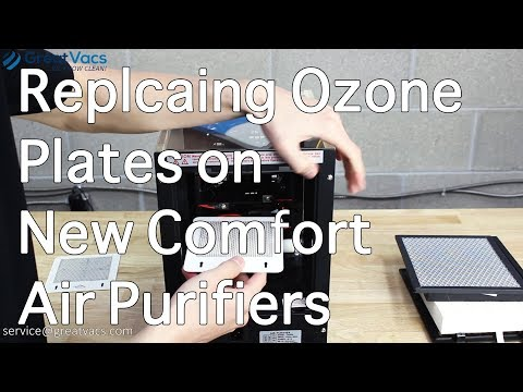 How to Replace the Ozone Plates on New Comfort Air Purifiers