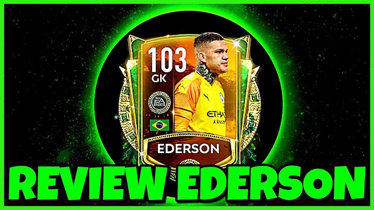 REVIEW EDERSON 103 ⚡11 tiros totales en 3 partidos...¿Todos detenidos o todos gol?⚡ / FIFA MOBILE 20