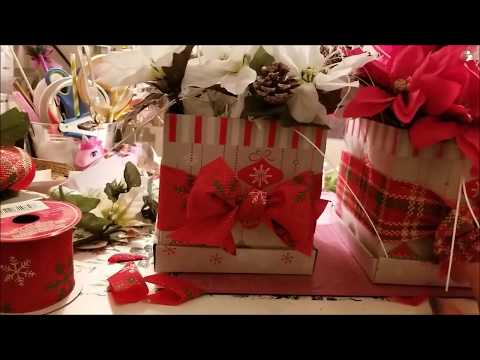 Craft Fair Ideas #7 Flower Gift Box Arrangement