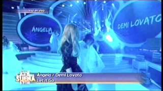 Angela Torres es Demi Lovato en Tu cara me suena