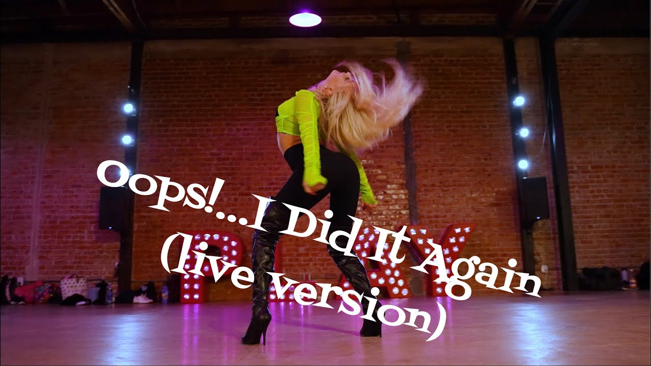 Download Oops!...I Did It Again (Live) - Britney Spears - Choreography by Marissa Heart - Heartbreak Heels