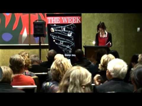 Ivy Ireland reading at the 2010 NSW Parliament Poetry Soirée