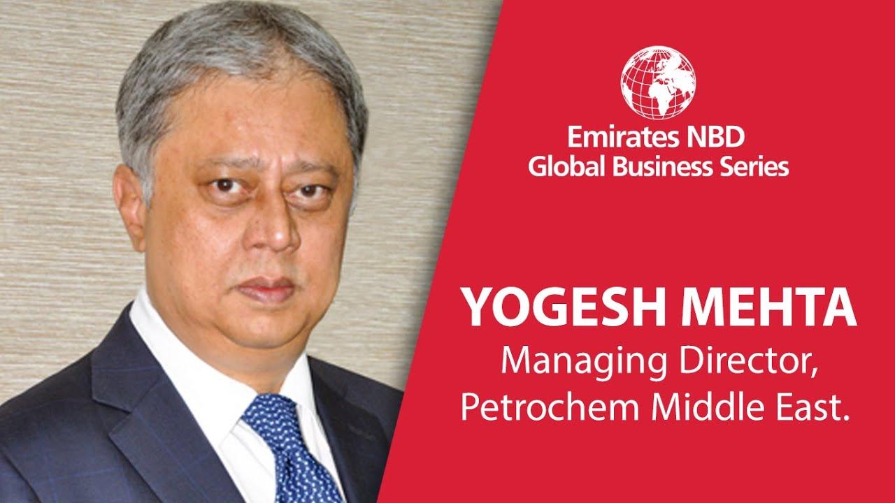 Yogesh Mehta, CEO of Petrochem Middle East