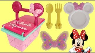 Disney Minnie Mouse Snap On Picnic BAsket Playset with Princess Sofia the First