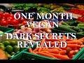 One Month Vegan ~ Dark Secrets Revealed!