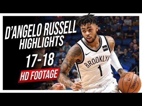 Nets PG D'Angelo Russell 2017-2018 Season Highlights ᴴᴰ