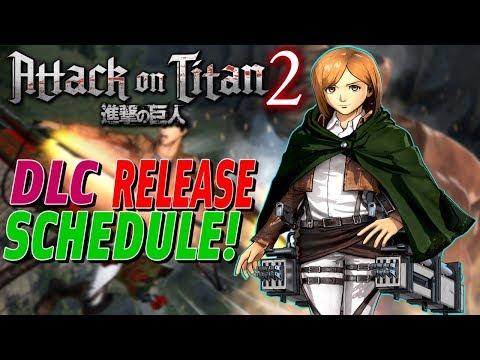 Attack On Titan 2 | DLC Release Schedule!
