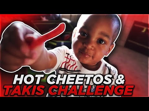 HOT CHEETOS & TAKIS CHALLENGE WITH DJ