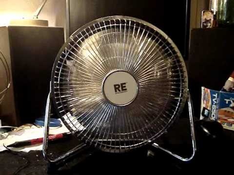 room essentials 9 inch high velocity fan model me6609 - High Velocity Fan