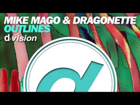 Mike Mago & Dragonette - Outlines (Promo Artwork)