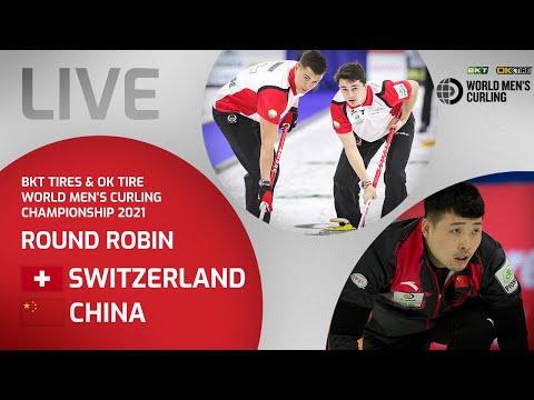 Switzerland v China - Round Robin - World Men's Curling Championship 2021