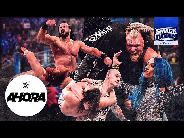 Brock Lesnar suspendido INDEFINIDAMENTE en SmackDown: WWE Ahora, Oct 22, 2021