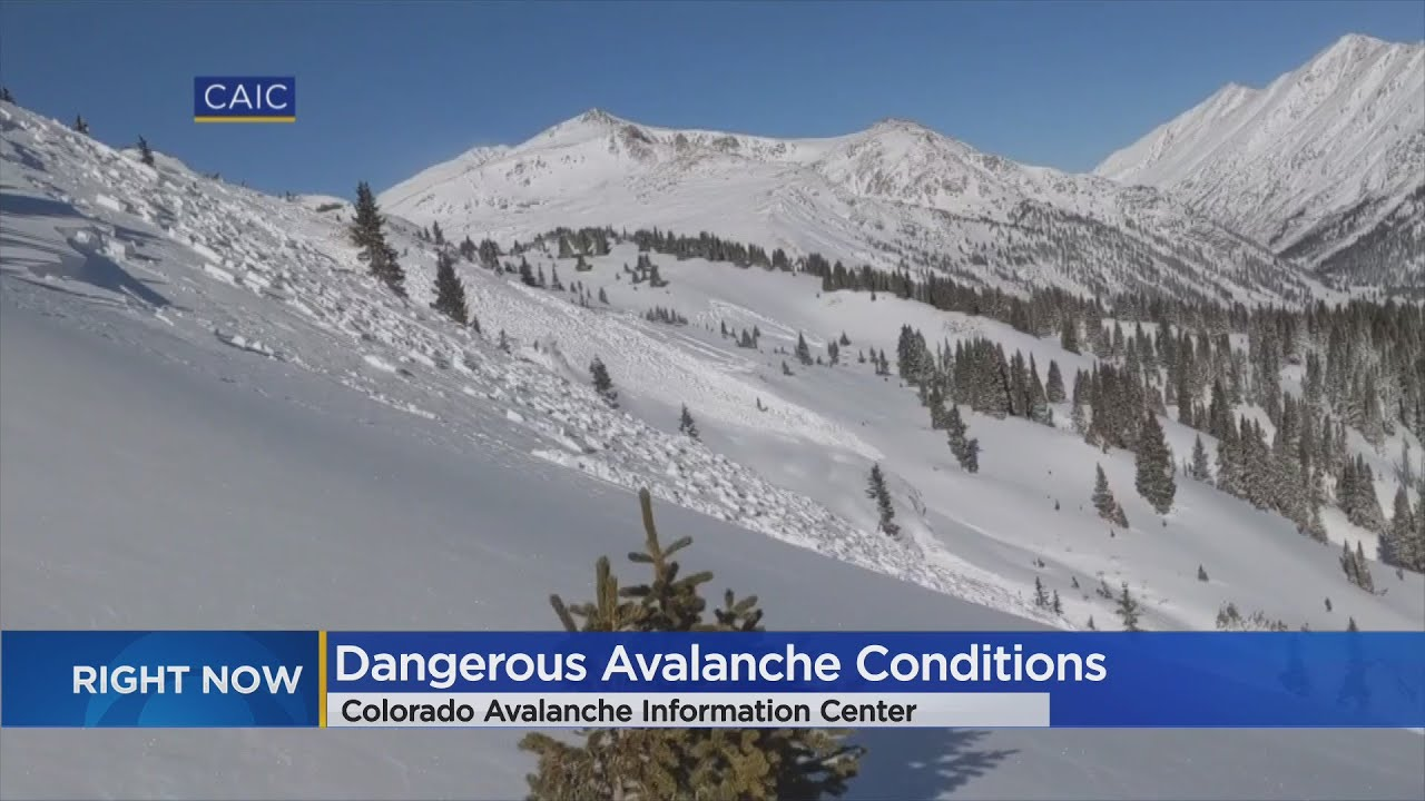 'Tricky' & 'Unstable' Snow Causes Avalanche Near Independence Pass