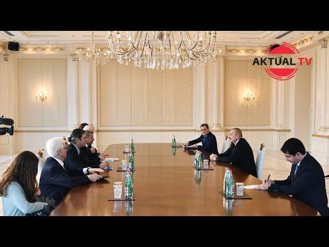 «Я вас сюда не приглашал»: жесткий разговор Алиева с посредниками