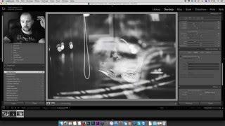 Обработка фотографий - пресет  для черно белых фото