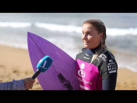 Rip Curl Women's Pro Bells Beach: Short Cuts