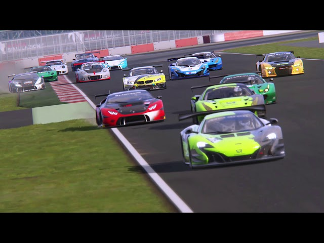 [ASSETTO CORSA] HIGHLIGHTS Blancpain GT Séries 2018   Manche 1 & 2