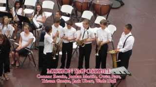 SEAS Brass Ensemble Mission Impossible Skit